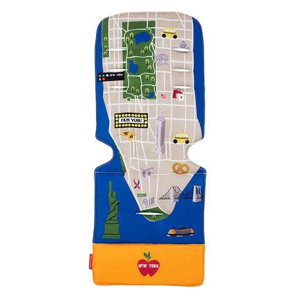 Coussin pour poussette - New York City Map