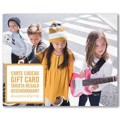 La E-carte cadeau Orchestra groupeNoel
