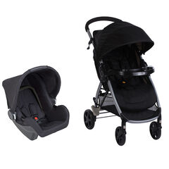 Poussette duo Step&Go - Full black