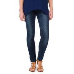 Jeans de grossesse coupe slim avec clous fantaisie