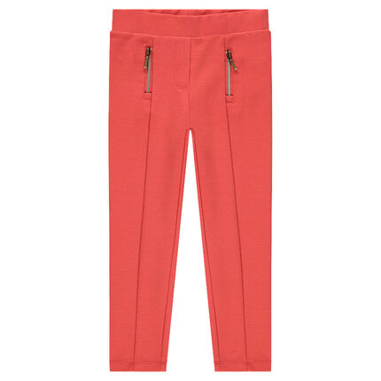 Legging en milano avec zips