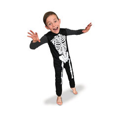 Déguisement Squelette Taille M - Noir , Rubie'S