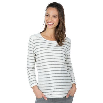 Marinière de grossesse avec fantaisies sur les épaules