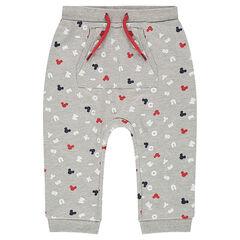 Pantalon de jogging en molleton avec imprimé all-over ©Disney Mickey