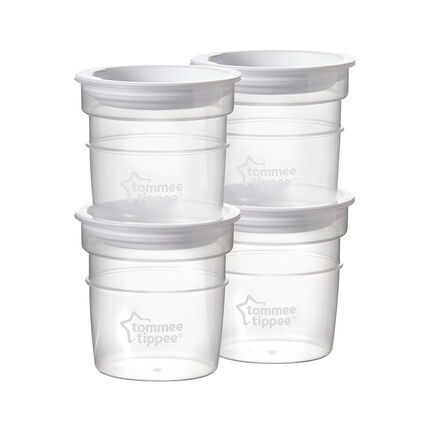 Lot de 4 pots de conservation 55 ml