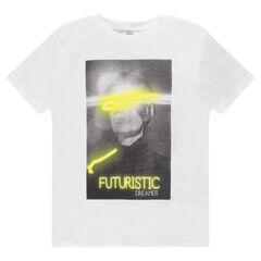 Junior - Tee-shirt manches courtes en jersey avec photo print