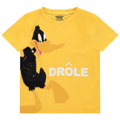 T-shirt manches courtes print Daffy Duck Looney Tunes