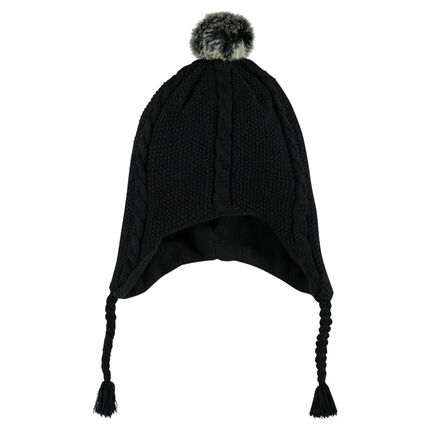 Bonnet péruvien avec pompon