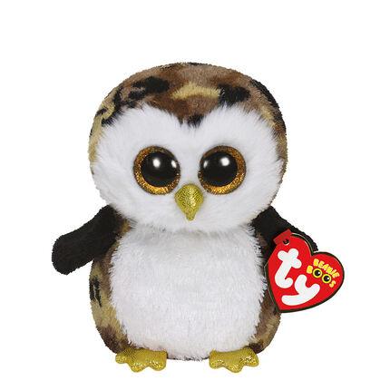 Peluche small 1er age Owliver la Chouette