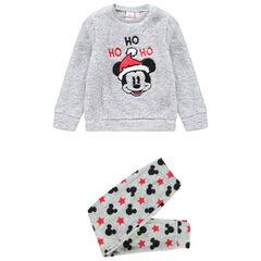 Pyjama en sherpa motif Mickey Disney esprit Noël  , Orchestra