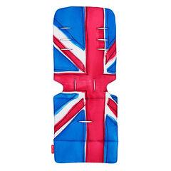 Coussin pour poussette - Union Jack Princess Blue