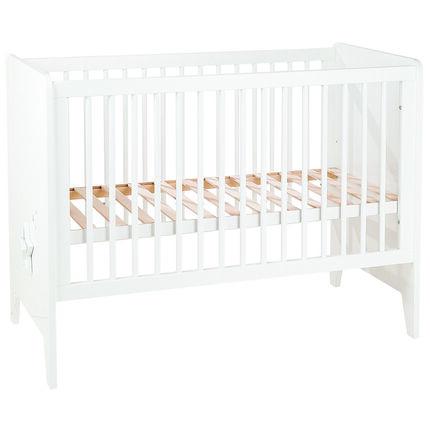 lit 60 x 120 cm poudre d 39 etoiles blanc orchestra fr. Black Bedroom Furniture Sets. Home Design Ideas