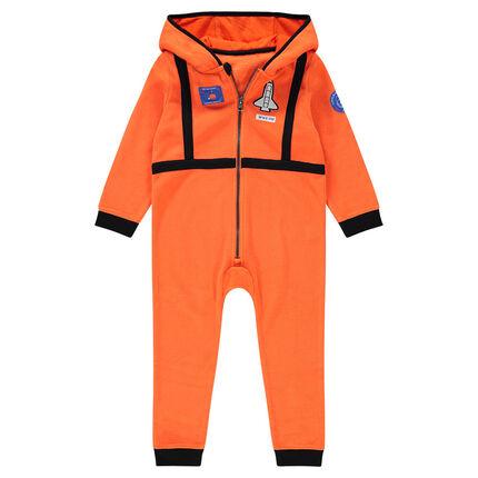 bc35924dac Surpyjama à capuche en polaire esprit pilote avec badge fusée ...