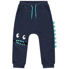 Pantalon de jogging en molleton à découpe fantaisie