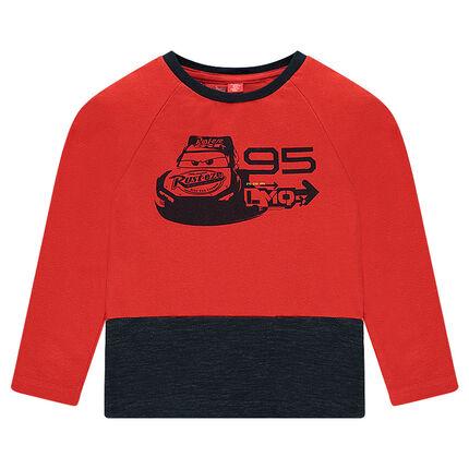 Tee-shirt manches longues en jersey bicolore Disney/Pixar® print Cars