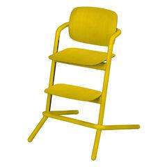 Chaise haute évolutive Lemo Wood - Canary Yellow