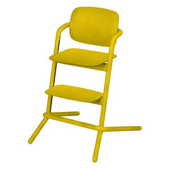 Chaise haute évolutive Lemo Wood - Canary Yellow