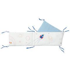 Tour de lit 3 pans à motifs esprit espace , Prémaman