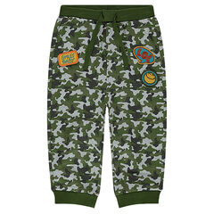 Pantalon en jogging en molleton army ©Smiley