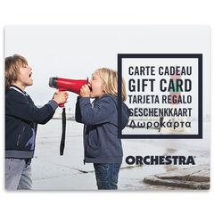 La E-carte cadeau Orchestra duoGarcons