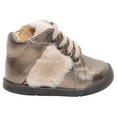 61fba217cb998 chaussures premiers pas - chaussures bébé fille de marche - Orchestra