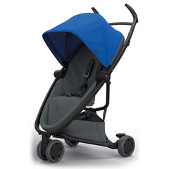 Poussette canne Zapp Flex - Blue on Graphite