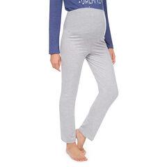 Pantalon homewear de grossesse bandeau haut