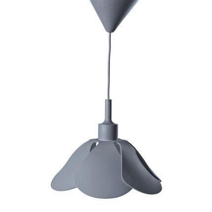 Lampe suspendue en silicone - Gris
