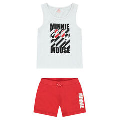 Junior - Pyjama court en jersey avec print Minnie ©Disney