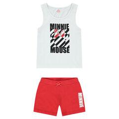 Junior - Pyjama court en jersey avec print Minnie ©Disney