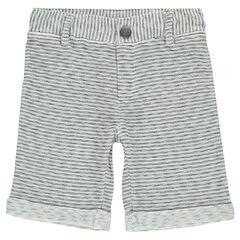 Junior - Bermuda en molleton fantaisie avec poches