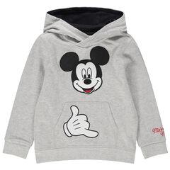 Sweat en molleton Mickey Disney brodé
