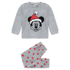 Pyjama en sherpa Disney avec Mickey brodé