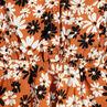 Junior - Robe manches courtes volantées avec fleurs all-over