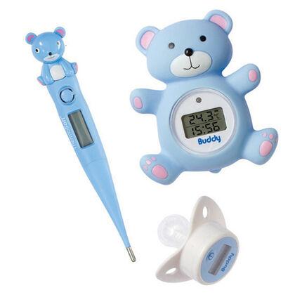 Set de thermomètre Buddy Set - Bleu