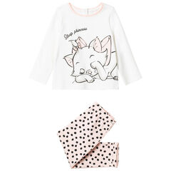 Pyjama motif Marie des Aristochats Disney et pois , Orchestra