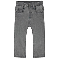 Pantalon en molleton effet denim