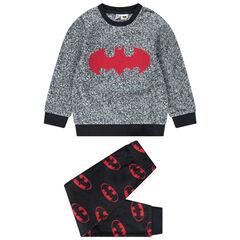 Pyjama en polaire avec logos Batman Warner