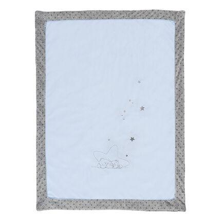 Couverture Poudre d'Étoiles Bleu - 75 x 100 cm