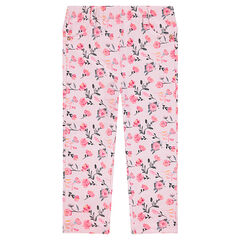 Jegging en molleton imprimé all-over