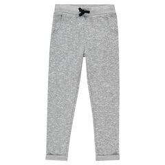 Junior - Pantalon loose en molleton envers