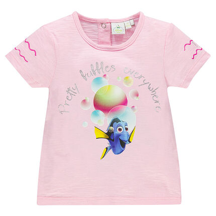 Tee-shirt manches courtes print fantaisie Disney Pixar Dory
