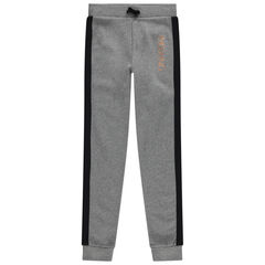Junior - Pantalon de jogging en molleton à inscription en foil
