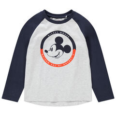 T-shirt manche longues print Mickey Disney