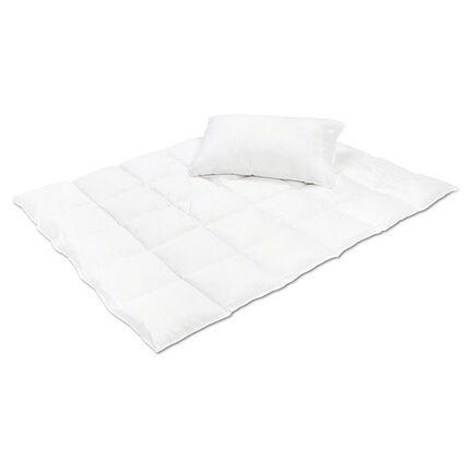 Set d'une couette et d'un oreiller 100 x 135/40 x 60 cm