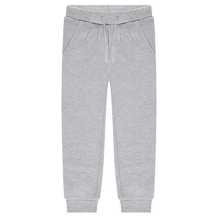 Junior - Pantalon de jogging en molleton uni