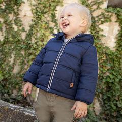 Doudoune à capuche doublée micopolaire pour bébé garçon , Orchestra