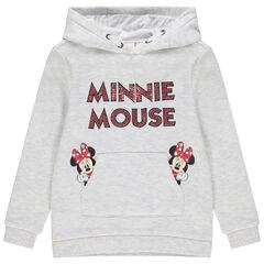 Sweat à capuche en molleton print Minnie Disney pour enfant fille , Orchestra