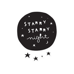 Stickers muraux – Starry night