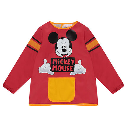 Tablier de peinture manches longues avec print Disney Mickey